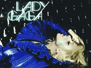 Lady GaGa &#39;Just Dance&#39; single artwork.
