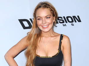 Lindsay Lohan, Scary Movie 5, premiere, Dolce & Gabbana, fashion 