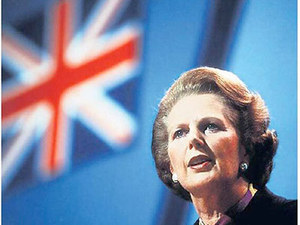 Margaret Thatcher's death on newspaper front pages: The Times