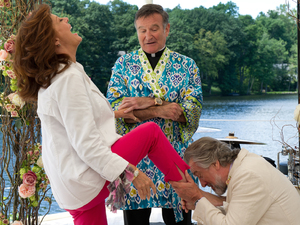 Robert De Niro, Susan Sarandon, Robin Williams in 'The Big Wedding'