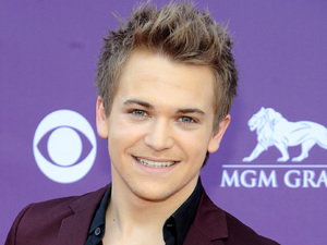 Hunter Hayes arriving at the Academy of Country Music Awards 2013