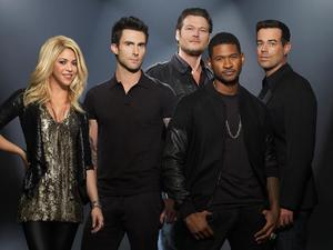 &#39;The Voice&#39; coaches with Carson Daly