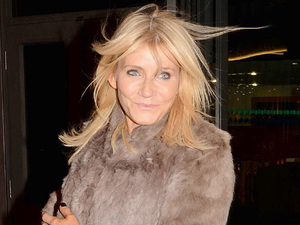 Michelle Collins in Dublin for The Saturday Night Show.