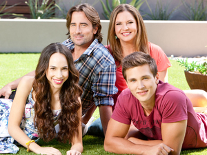 The Willis Family; Brad, Terese, Imogen and Josh.