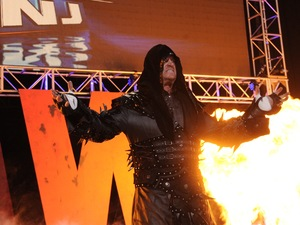 WWE wrestler The Undertaker at WrestleMania