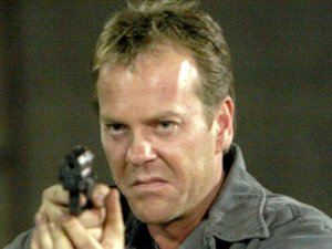 Kiefer Sutherland in season 4 of '24'