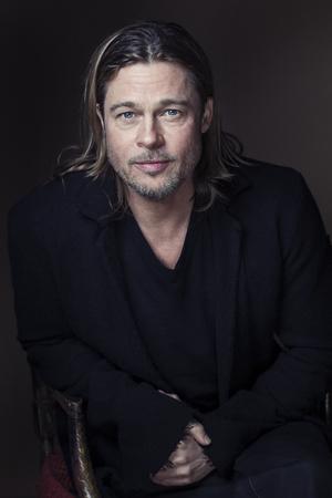 Brad Pitt portrait ~~ November 26, 2012