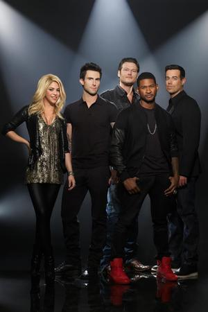 'The Voice' coaches with Carson Daly