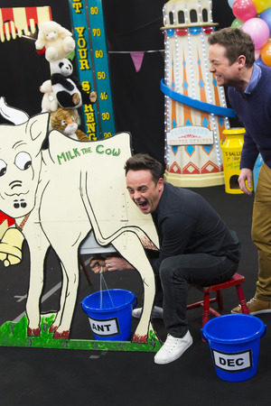 Ant and Dec in the 'Britain's Got More Talent' Fantasy Fairground challenge