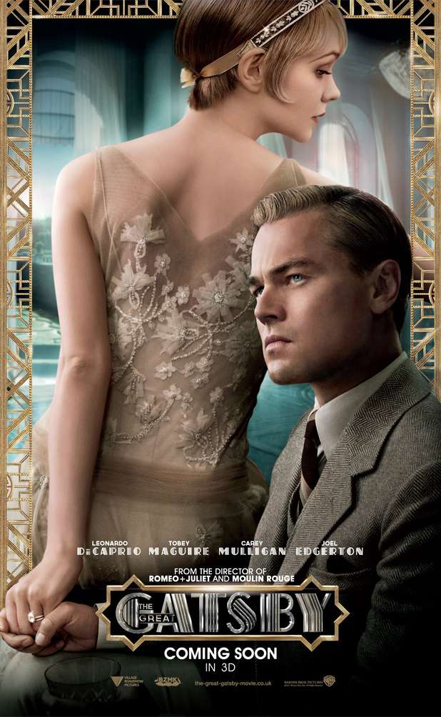 Daisy (Carey Mulligan) and Gatsby (Leonardo DiCaprio)