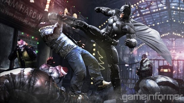 'Batman: Arkham Origins' screenshot