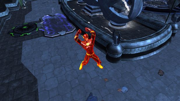 'Infinite Crisis' screenshot