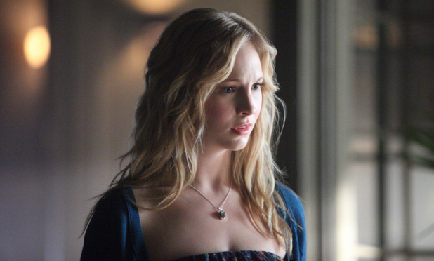 Candice Accola as Caroline in The Vampire Diaries S04E18: 'American Gothic'