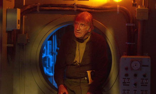 Professor Grisenko (David Warner) in Doctor Who S07E03: 'Cold War'