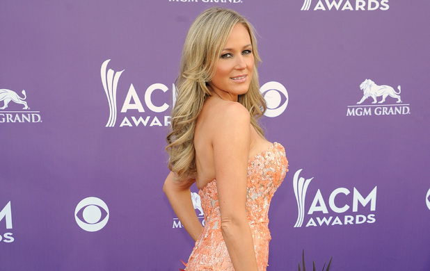 Jewel arriving at the Academy of Country Music Awards 2013