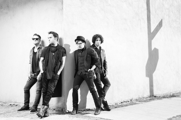 Fall Out Boy promo shot.