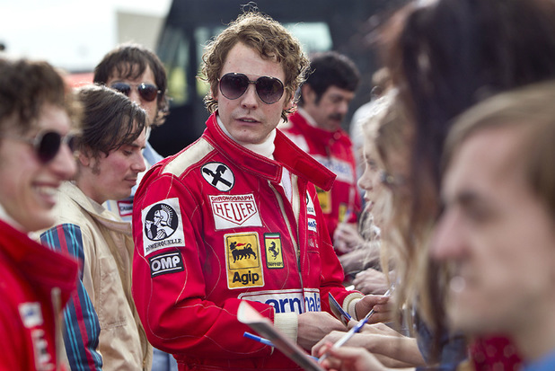 Daniel Brühl as Niki Lauda in 'Rush'