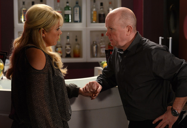 Sharon tells Phil they are better off as friends.
