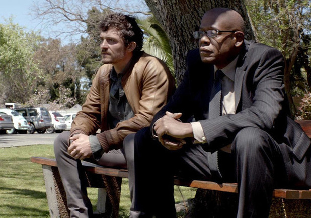 Orlando Bloom and Forest Whitaker in 'Zulu'