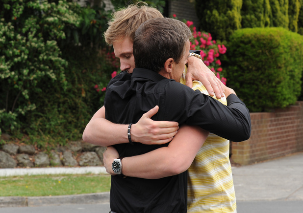 Paul says goodbye to Andrew.
