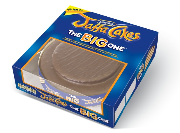 Giant Jaffa Cake 'The Big One'