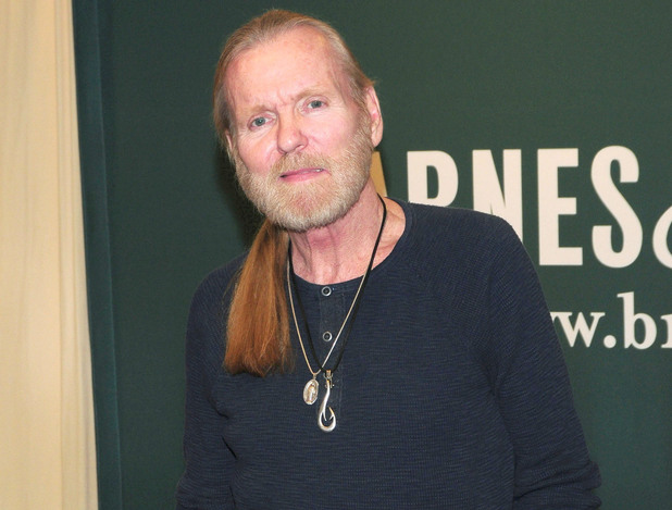 Rock and Roll Hall of Famer Gregg Allman signs copies of his new bestseller 'My Cross to Bear' at Barnes and Noble in March 2013