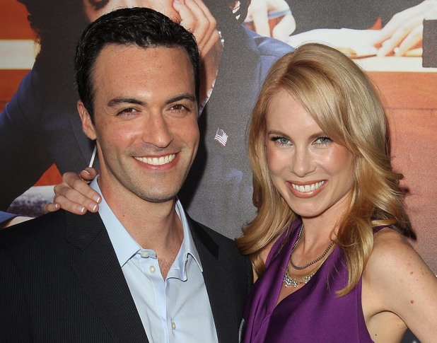 Reid Scott and Elspeth Keller at the Los Angeles premiere of HBO's 'VEEP' Season 2