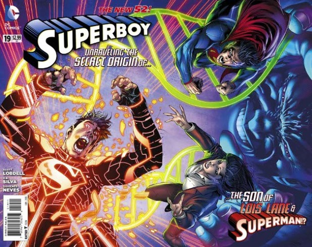 'Superboy' #19 cover art