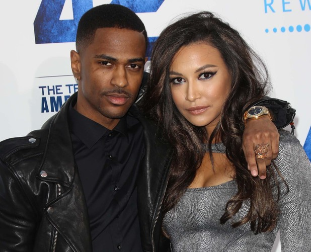 Naya Rivera and Big Sean at the Los Angeles premiere of '42: The True Story of an American Legend' in April 2013