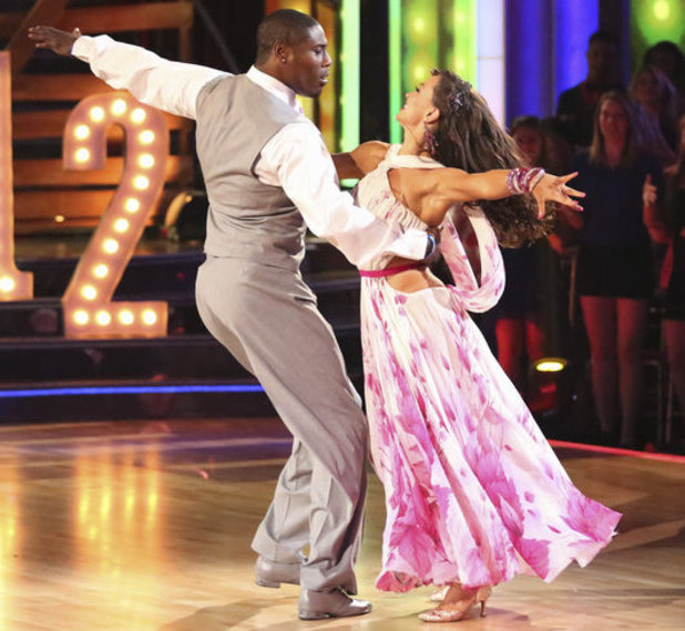Dancing with the Stars - week 4: Karina Smirnoff and Jacoby Jones