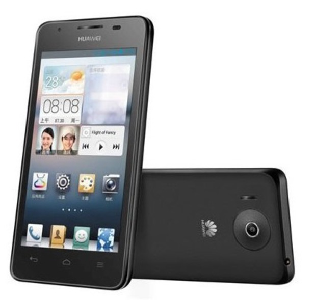 The Huawei Ascend G510 smartphone