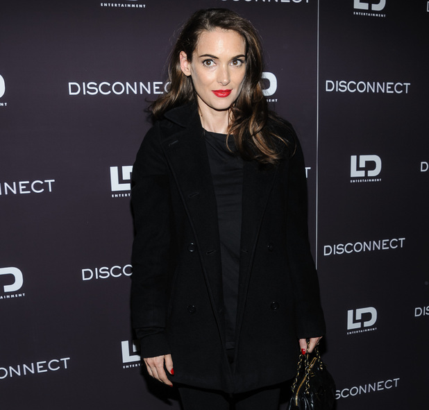 Winona Ryder, Disconnect, premiere in New York