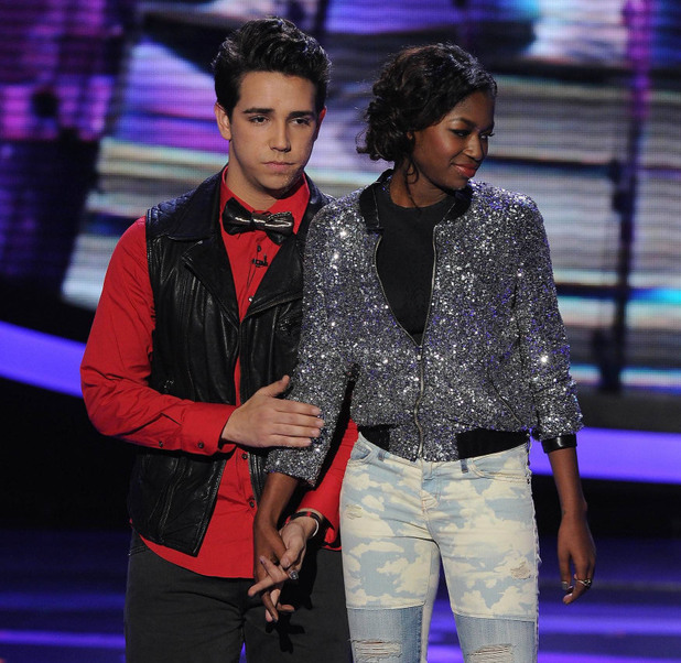 Lazaro Arbos is eliminated from 'American Idol' ~~ April 11, 2013 (season 12)
