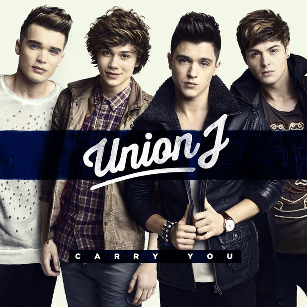 Union J artwork for 'Carry You'.