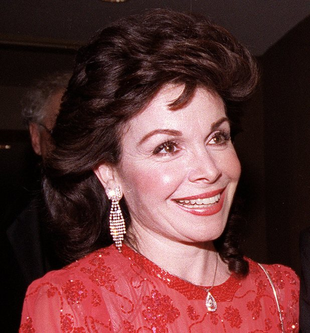 1990 file photo, actress and former Mickey Mouse Club member Annette Funicello arrives for the 15th annual Italian American Foundation dinner in Washington, D.C.
