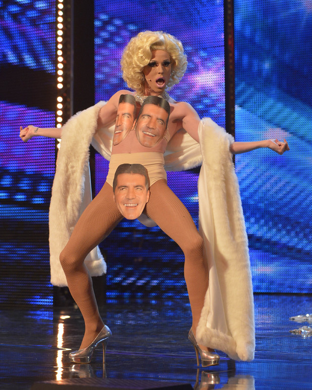 Previous Next Britain's Got Talent 2013 Episode One: Vicki Vivacious