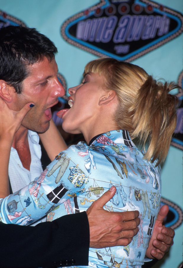 Natasha Henstridge and Anthony Guidera