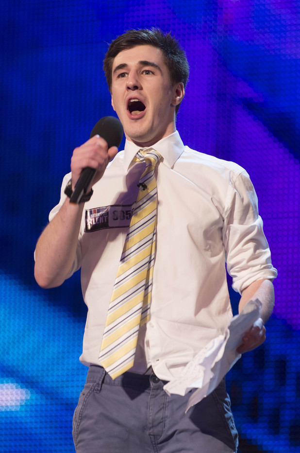 Britain's Got Talent 2013 Episode One: Paul Stark