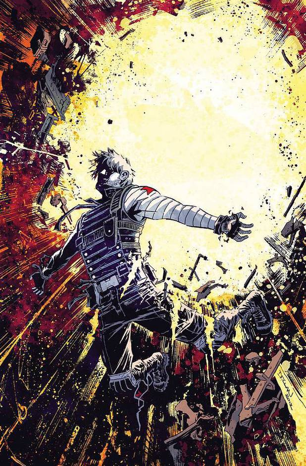 'Winter Soldier' #19 artwork