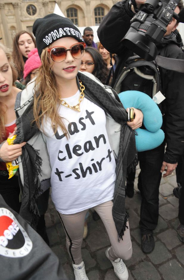 Celebrities t-shirts do the talking