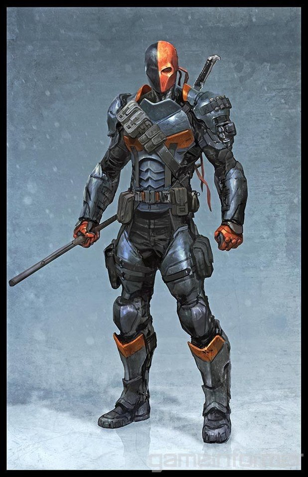 Batman Arkham Origins Deathstroke Playable Through Pre
