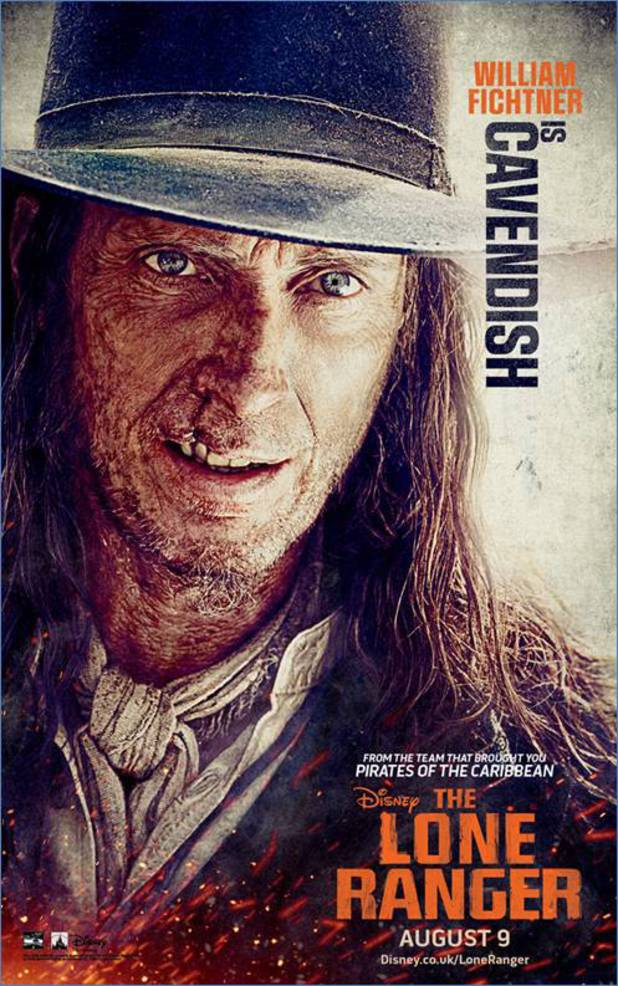 William Fichtner in 'The Lone Ranger'