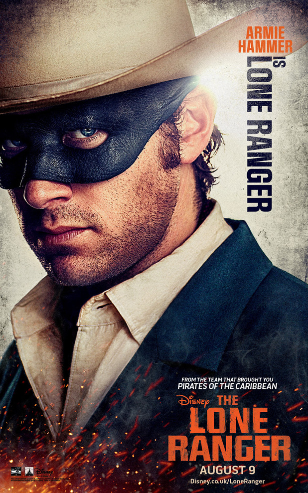 Armie Hammer in 'The Lone Ranger'