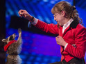A dancing raccoon and a painting donkey try out for Simon Cowell and the panel when BGT returns.