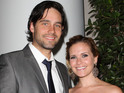 "Sally Pressman is ""blissfully happy"" to have given birth, according to her rep."