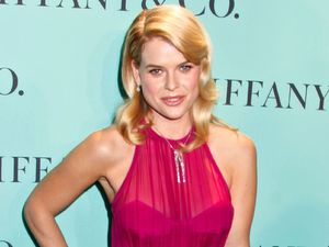 Alice Eve, Tiffany & Co., hot pink gown, Tiffany and Co. Blue Book Ball, New York