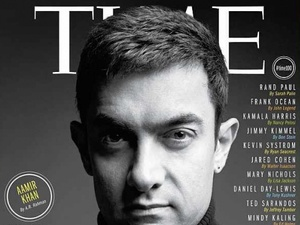 Aamir Khan on the cover of TIME Top 100 list