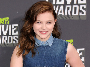 Chloe Moretz, Louis Vuitton, fashion, denim, MTV Movie Awards 2013