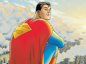 Artwork from &#39;All-Star Superman&#39;