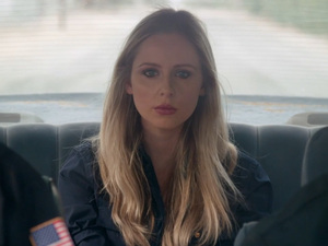 Diana Vickers in Dinosaur Pile-Up music video